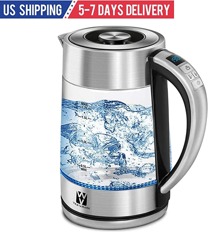 Vestaware Tea, Coffee And Water Kettle Temperature Control