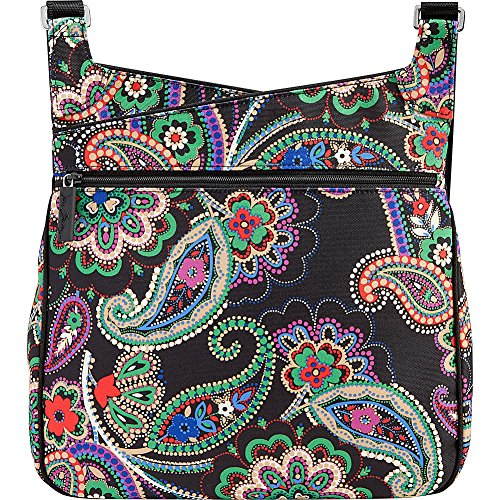 Lighten Bradley Up Slim Paisley Vera Crossbody Kiev in 5qEdAqxnt7