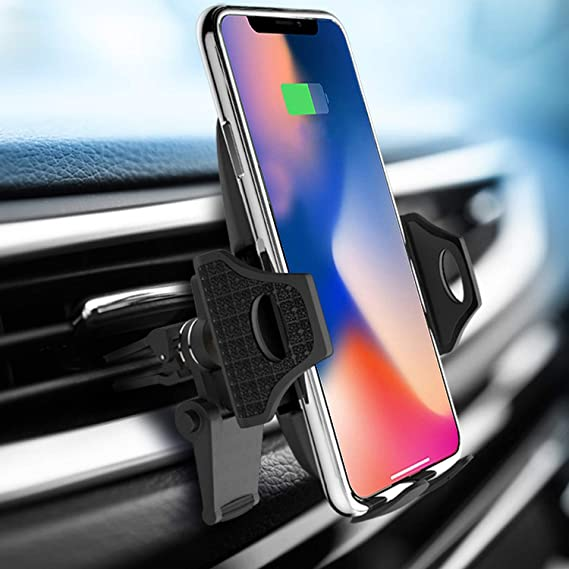 S10 S9 S8 LG Go Car Phone Mount Air Vent Phone Holder for Car Handsfree Cell Phone Car Mount Compatible iPhone XR Xs Max Xs X 8 7 6 Plus Compatible Samsung S10