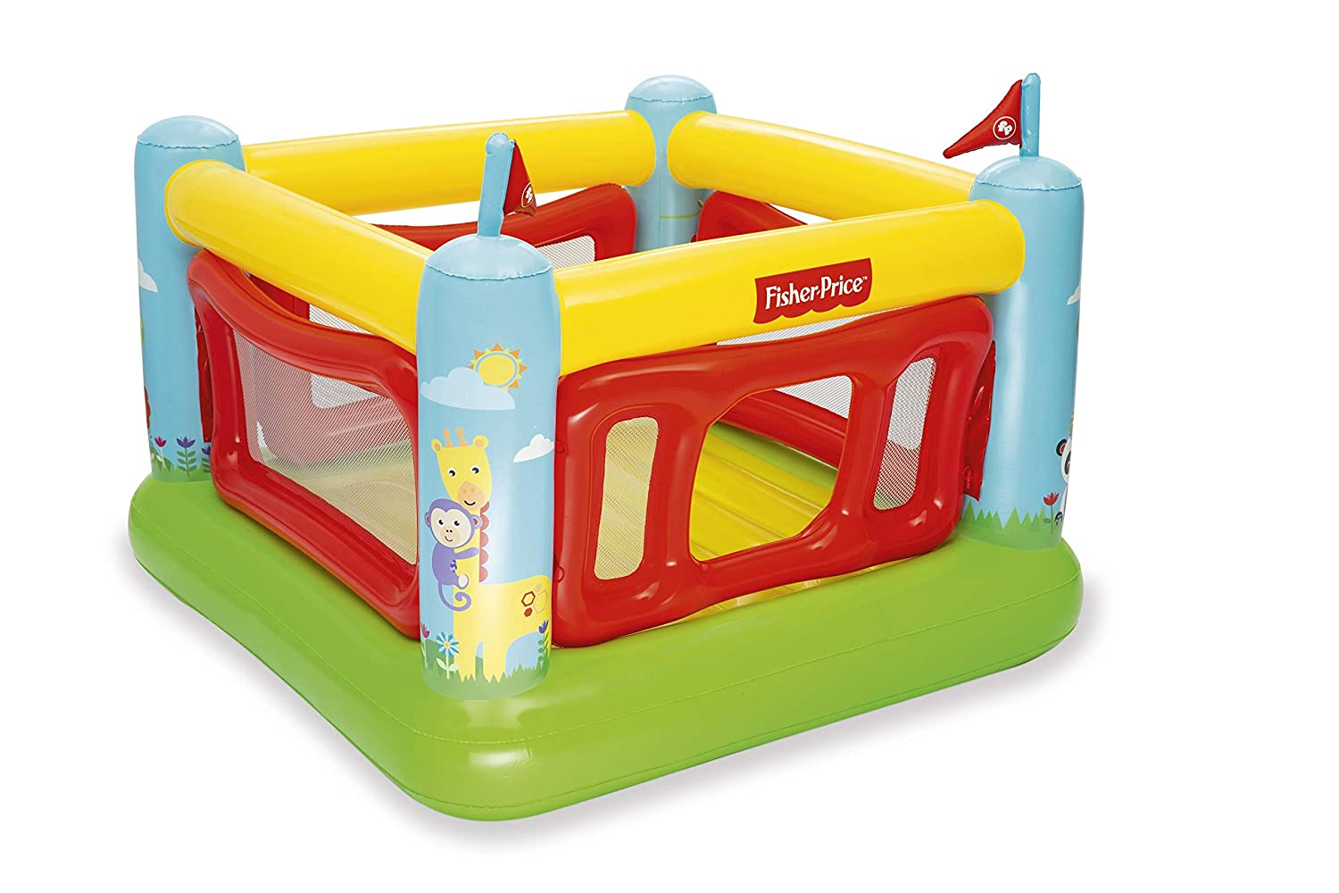 Bestway 93536-19 Fisher Price - Castillo Hinchable (175 x ...