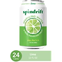 Deals on 24-Pack Spindrift Sparkling Water Lime Flavored 12-Oz