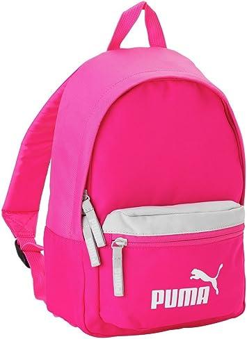tenedor Subordinar La base de datos  Puma Kids mochila pequeña rosa blanco: Amazon.es: Equipaje
