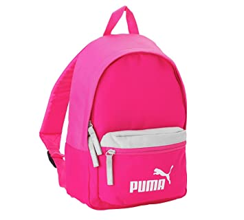 Image Unavailable. Image not available for. Colour  Puma Kids Small  Backpack Pink White 89707a922b4b5