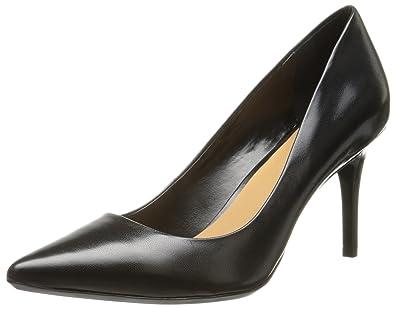 90035ddae88 Calvin Klein Women's Gayle Pump, Black Leather - 5 B(M) US