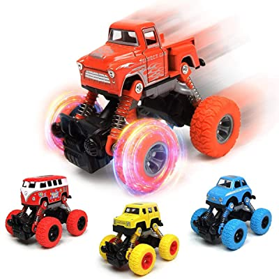 Phunda Toyz Pull Back Car Set Birthday Gift: Toys & Games