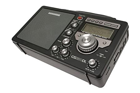 Grundig/Eton S350 AM/FM/Shortwave Field Radio with Alarm Clock and Sleep  Timer, Variable RF Gain Control, Full-Range Speaker, Bass and Treble