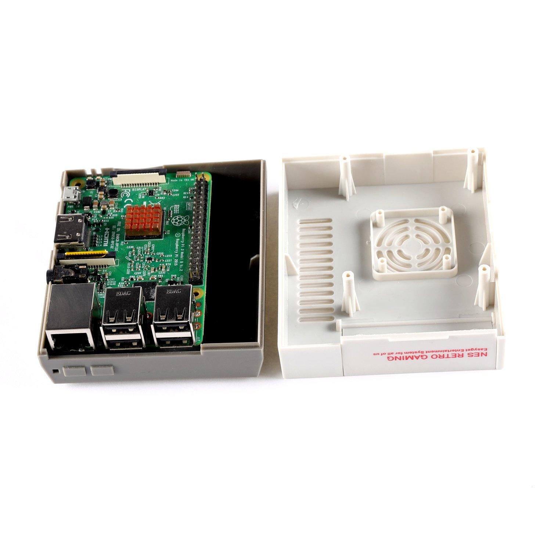 2 and B NES Case for Raspberry Pi 3 with screws screwdriver /& air vent design