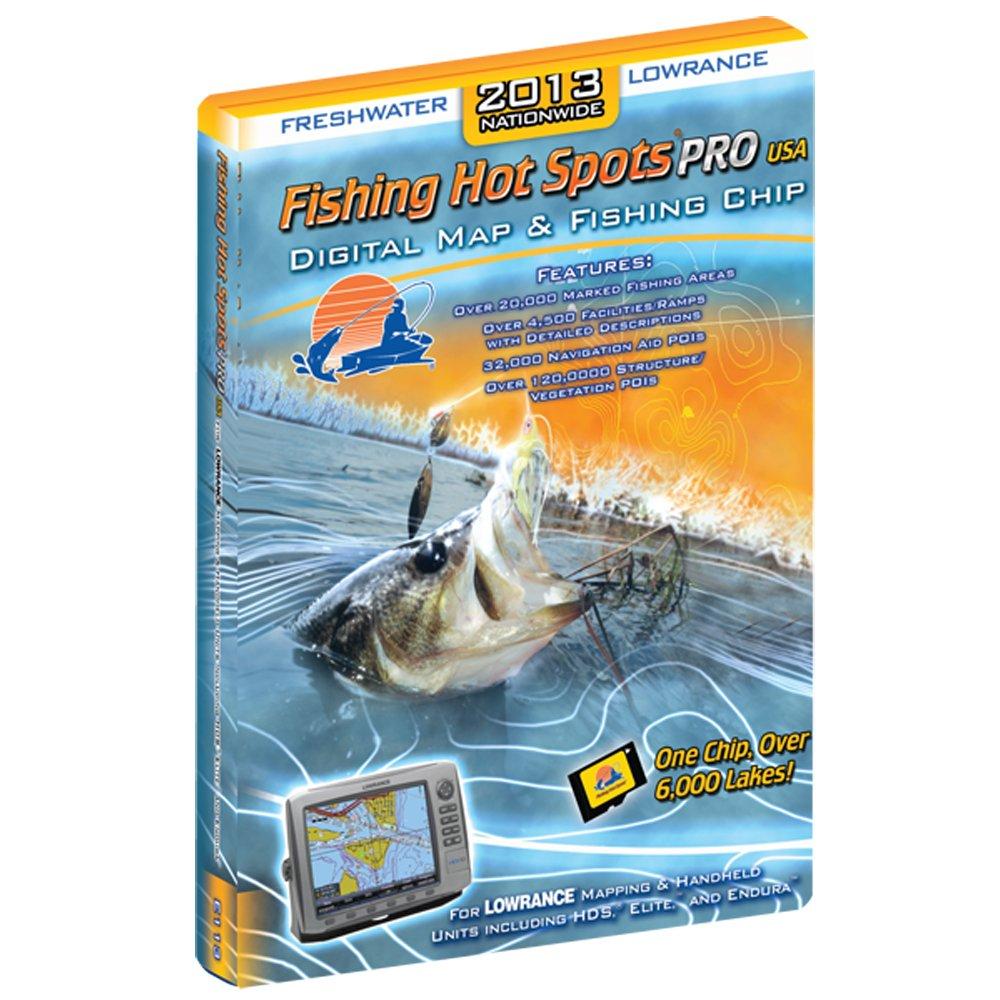 Fishing Hot Spots PRO - USA 2013 Freashwater Coverage f/Lowrance