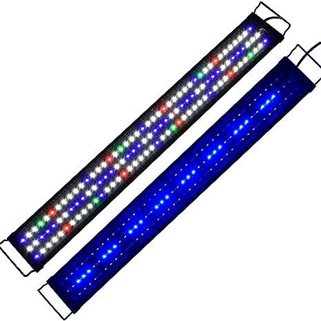 Aquarien ECO Iluminación del Acuario simulación luz del Acuario 90cm-117cm Full Spectrum LED Reef