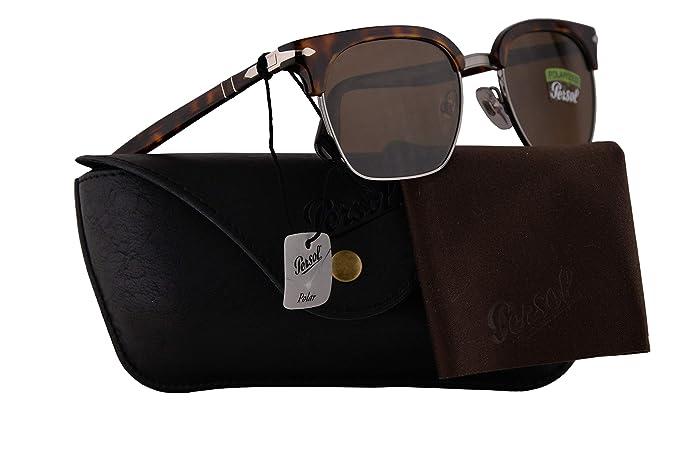 Persol PO3199S Tailoring Edition - Gafas de sol con lente polarizada, 53 mm, 2457, PO 3199-SPO3199-SPO 3199S: Amazon.es: Ropa y accesorios