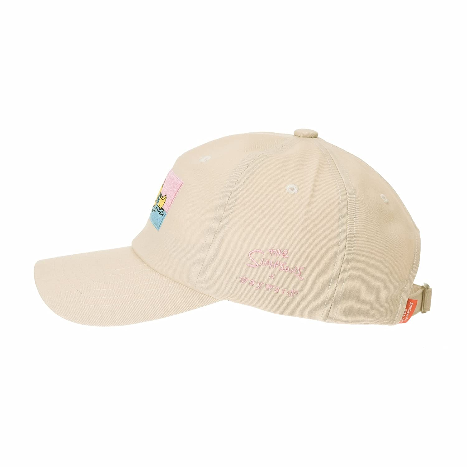 34772e1d003 WITHMOONS The Simpsons Baseball Cap Beach Homer Embroidery Hat HL11032 ( Beige)  Amazon.co.uk  Clothing