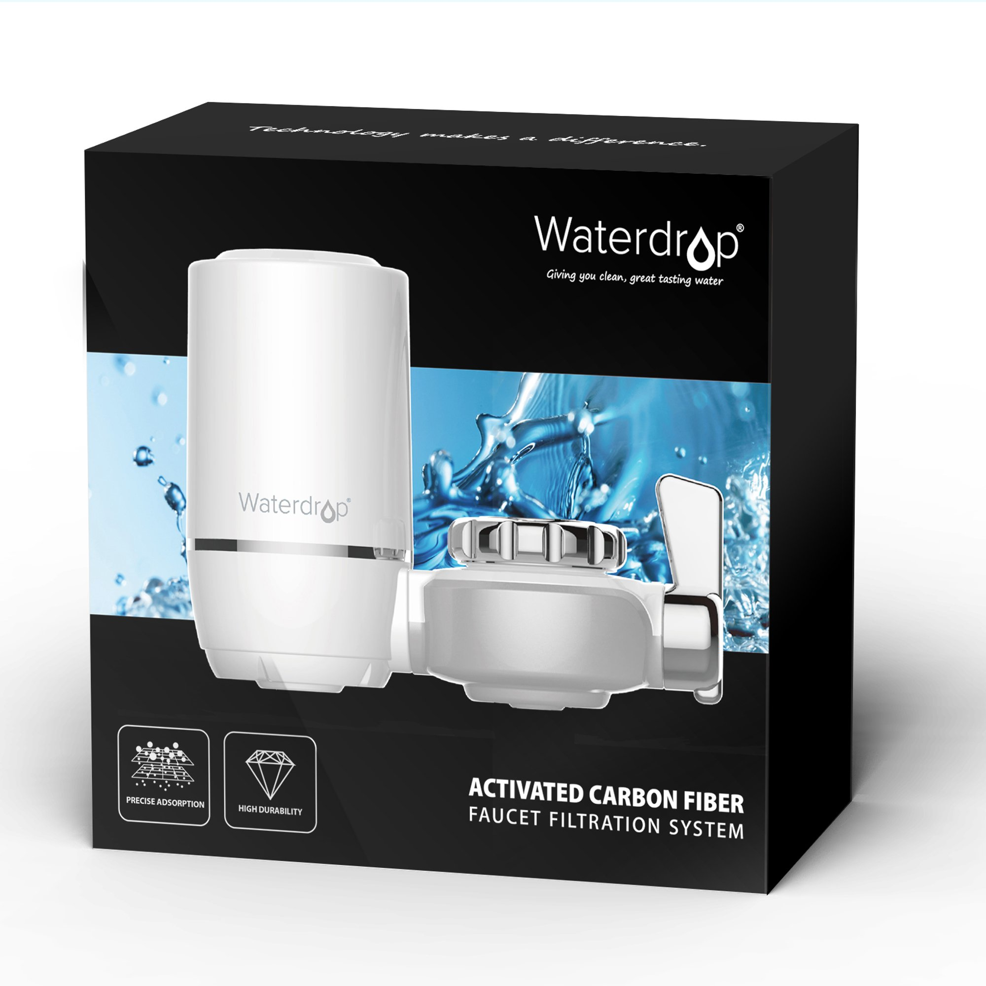 Waterdrop 320-Gallon Long-Lasting Water Faucet Filtration System ...