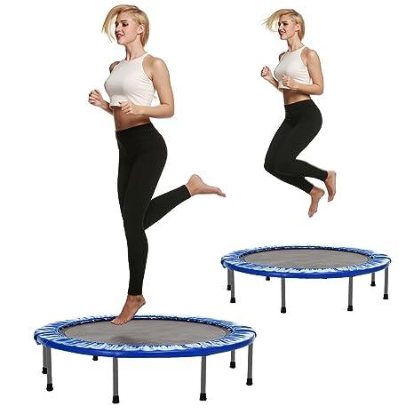 begorey Fitness Deporte cama elástica plegable trampolín de jardín ...