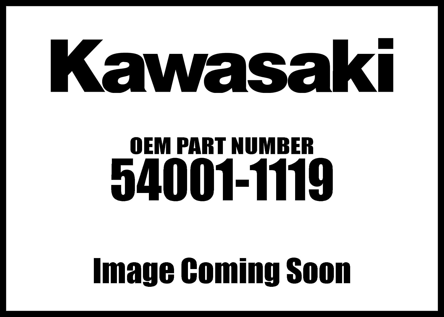Kawasaki 98-06 Concours Cable Speedometer 54001-1119 New OEM