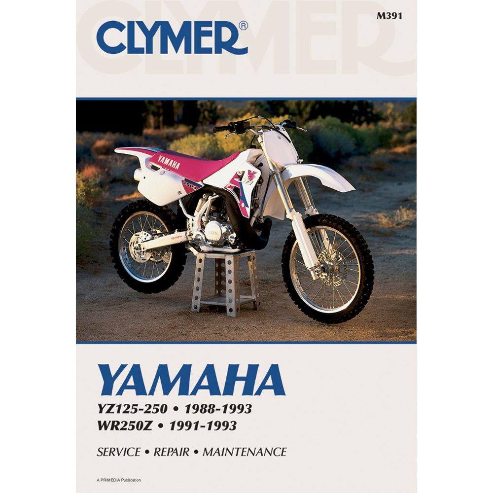 Amazon.com: Clymer Manual Yamaha YZ/WR125-250 88-93 M391 PU M391: Automotive