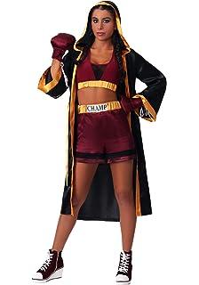 Amazon.com: Dreamgirl, disfraz de boxeo, para mujeres ...