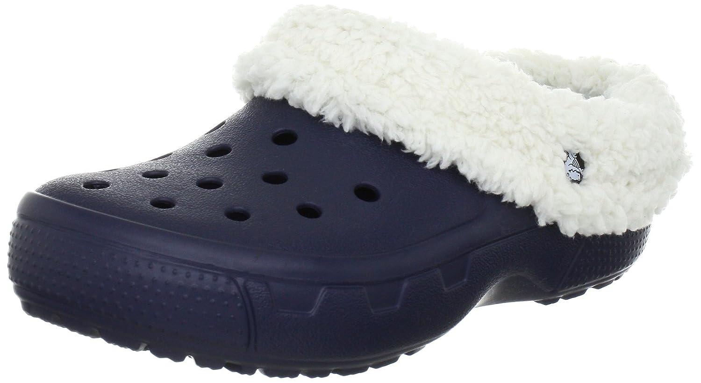 crocs Mammoth Core Full Collar 12878-55V-160 - Zuecos unisex 36/37 EU Blu (Navy/Oatmeal)