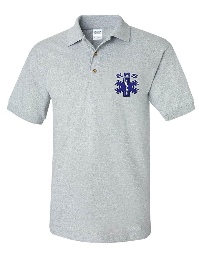 Ambulance Polo Shirt Medical Health Care Work Wear Polo Top