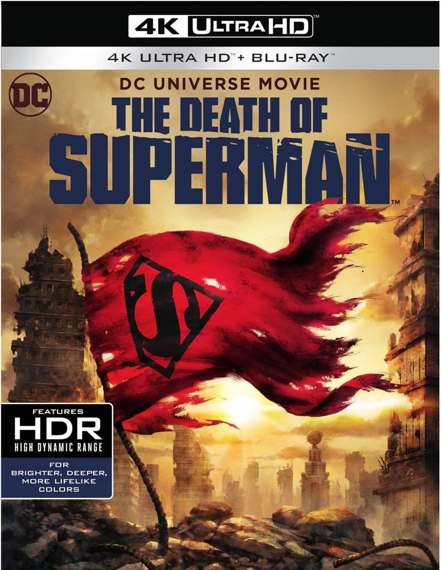 Blu-ray 3D : The Death Of Superman (dcu) (With Blu-Ray, 4K Mastering, Digital Copy, 2PC)