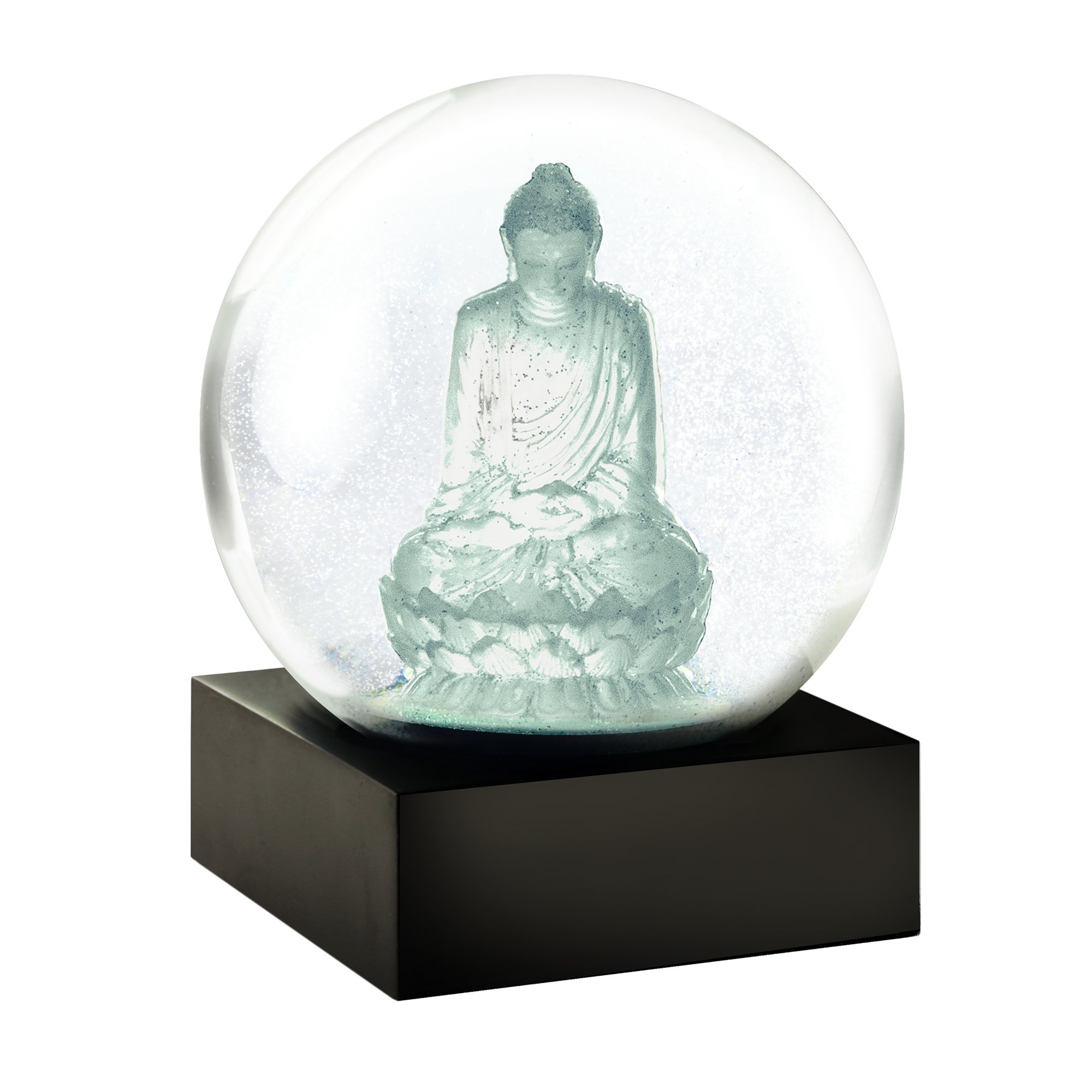 CoolSnowGlobes Crystal Buddha Cool Snow Globe by CoolSnowGlobes