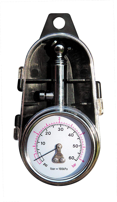 MASO Tyre Pressure Gauge Professional Portable Car /& Bike Tyre Pressure Reader Gauge Tool with Case PSI /& BAR