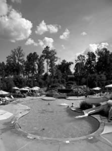 18 x 24 Black & White Canvas Wrapped Print of Pool at The Hotel That is Located at The Ross Bridge Golf Course Hoover Alabama d58 2010 Highsmith