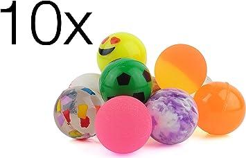 10x Flummi detalles cumpleaños infantiles regalos piñatas infantil ...