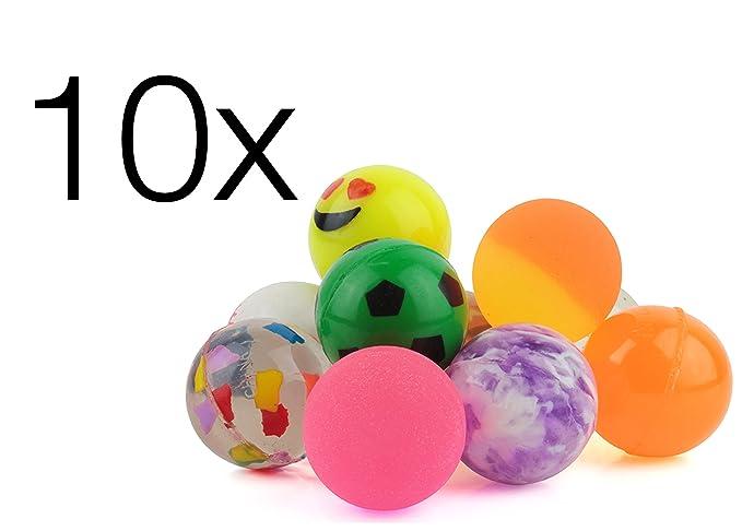 10x Flummi detalles cumpleaños infantiles regalos piñatas ...