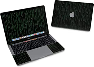 "Matrix Style Code Full-Size 360° Protector Skin Sticker for Apple MacBook Pro 13"" Inch (2016+) - Ultra Thin Protective Vinyl Decal wrap Cover"