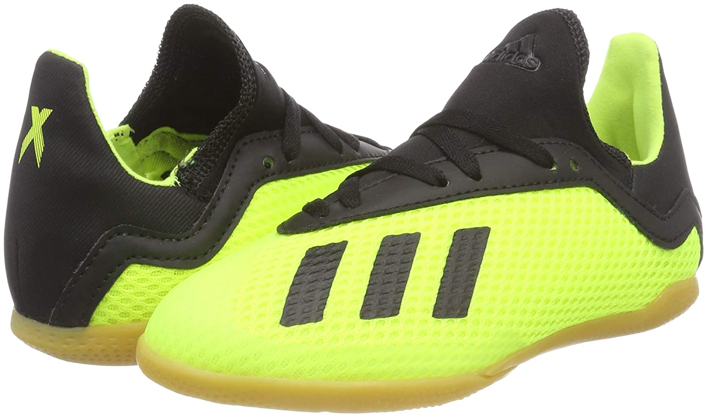 Amazon.com | adidas - X Tango 183 in J - DB2426 - Color: Black-Green - Size: 4.5 | Soccer