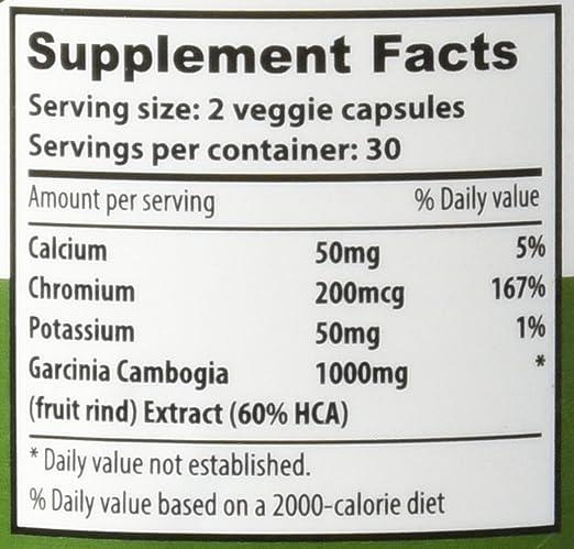 Amazon.com: Garcinia Cambogia Extracto – 100% Pure high ...