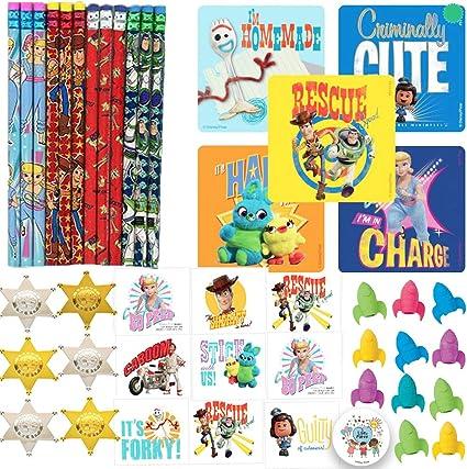 Amazon.com: Toy Story 4 recuerdos de fiesta de cumpleaños y ...