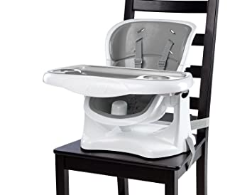 Amazon.com : Ingenuity SmartClean ChairMate Chair Top High Chair, Slate/Gray : Baby