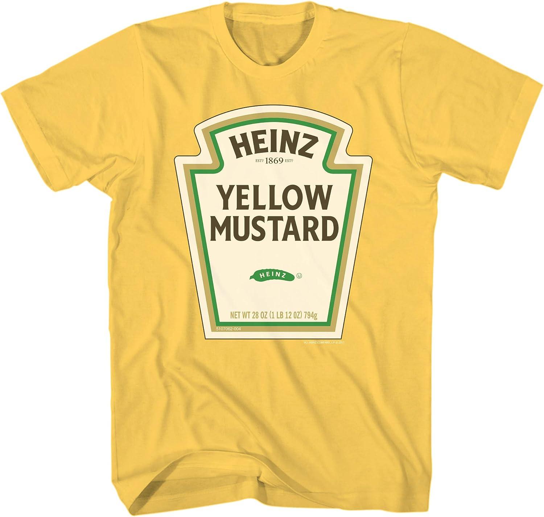 Heinz Yellow Mustard Logo Adult T-Shirt