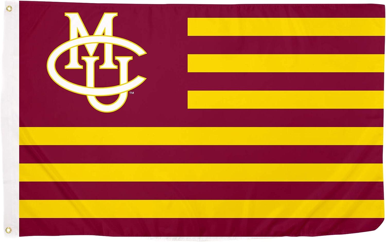 Nation Flag a Desert Cactus Colorado Mesa University Mavericks NCAA 100/% Polyester Indoor Outdoor 3 feet x 5 feet Flag