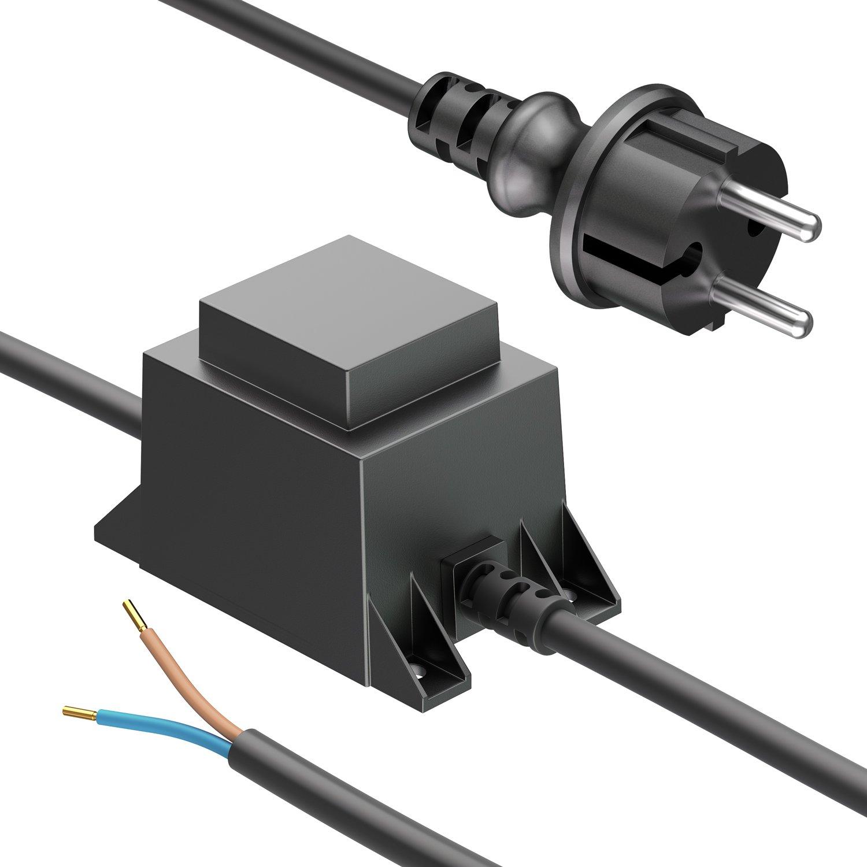 parlat 10W LED Netzteil mit Netzstecker, 12V AC, IP44 LEDs Com GmbH LC-SS-103
