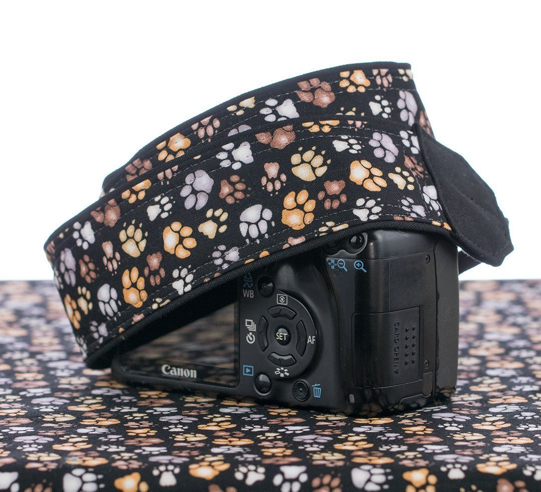 Paw Print Camera Strap, dSLR, SLR or Mirrorless Cameras 244