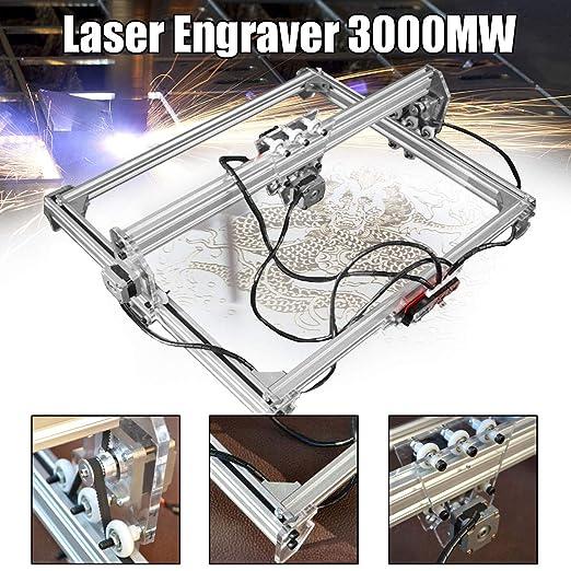 TQ Grabado láser Grabador de la máquina, los 50 * 65cm Mini 3000MW ...