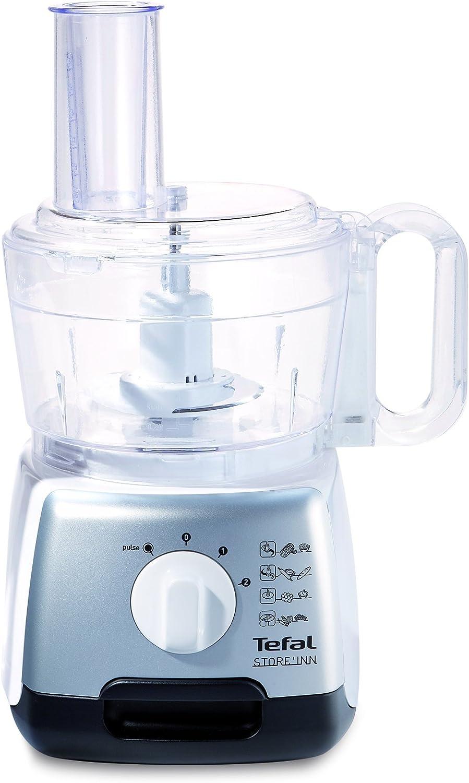 Tefal DO 301E STORE INN, Acero inoxidable, Blanco, 750 W, Acero inoxidable - Robot de cocina: Amazon.es: Hogar