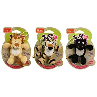 Hartz Just For Cats Jungle Plush Catnip Toy