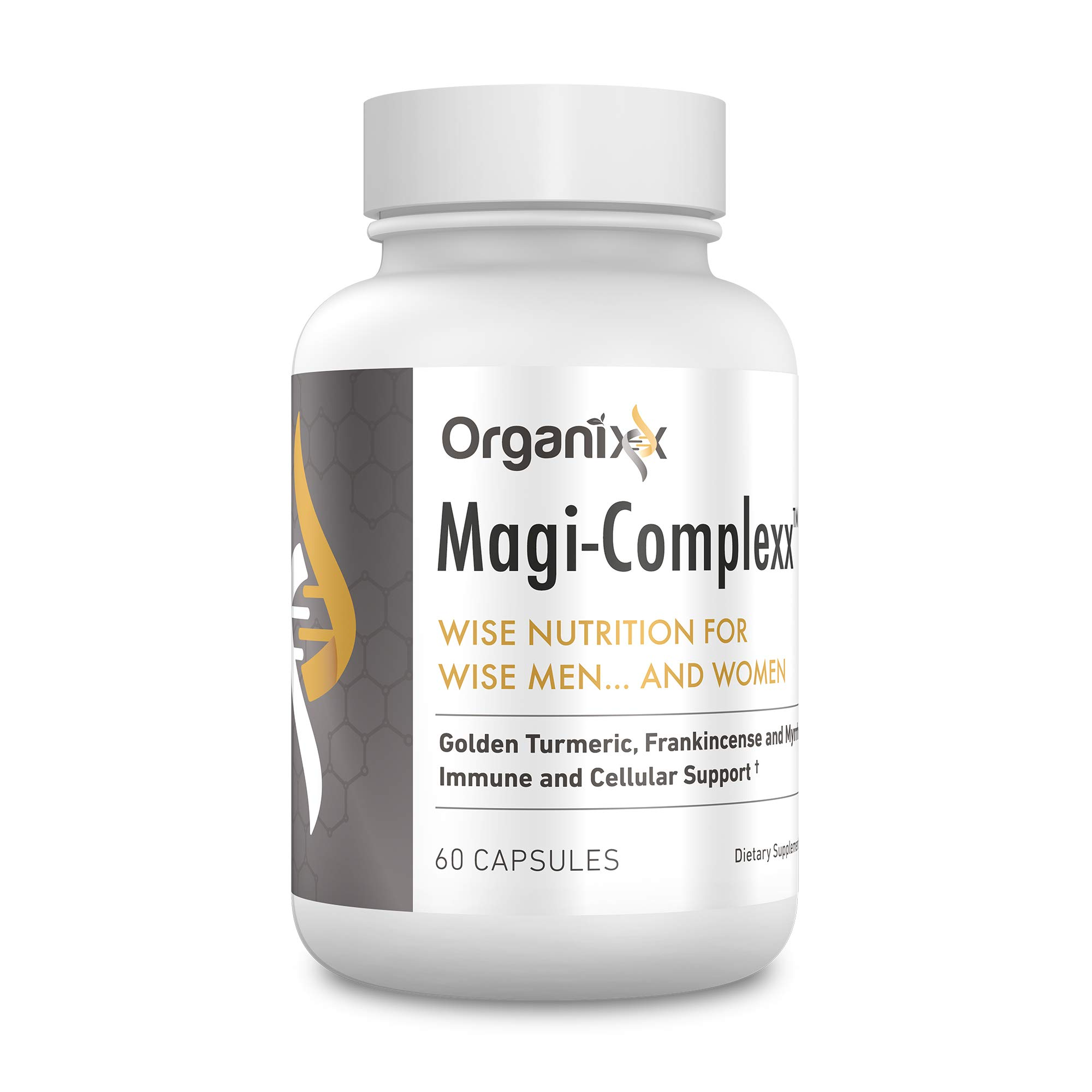 Magi-Complexx by Organixx - Frankincense, Myrrh, and Turmeric for the Strongest Inflammation Support