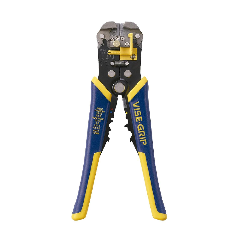 """IRWIN VISE-GRIP 2078300 Self-Adjusting Wire Stripper, 8"""""""