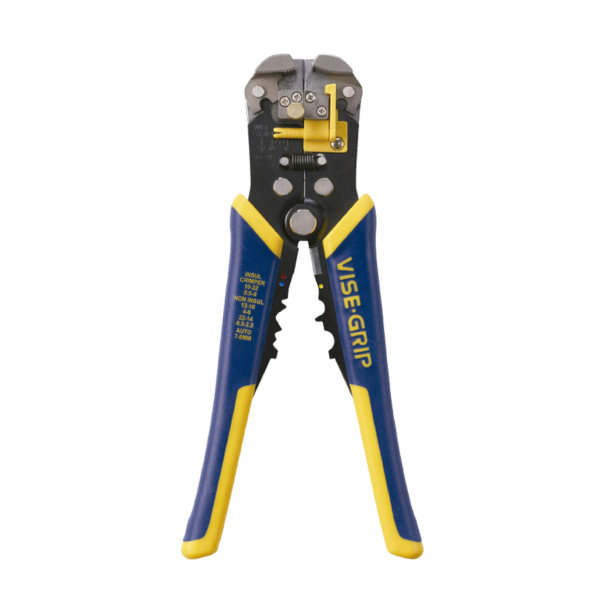 IRWIN VISE-GRIP 2078300 Self-Adjusting Wire Stripper, 8''