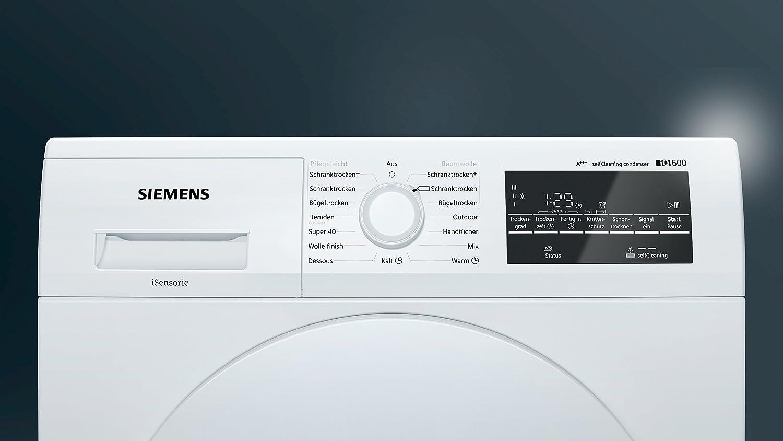 Siemens wt45w463 iq500 trockner wärmepumpentrockner a