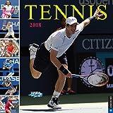 Tennis The U.S. Open 2018 Wall Calendar: The Official Calendar of the United States Tennis Association