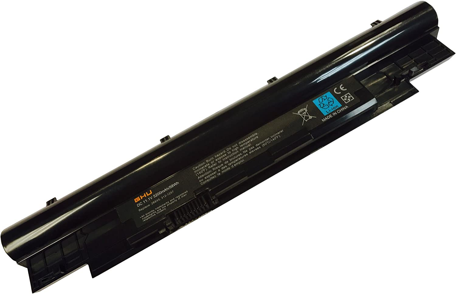 New GHU Battery 58 WH Replacement for 268X5 0268x5 Compatible with Dell Latitude 3330 inspiron 13z N311z 14Z N411z Vostro V131 V131D V131R 312-1257 312-1258 H2XW1 H7XW1 JD41Y N2DN5