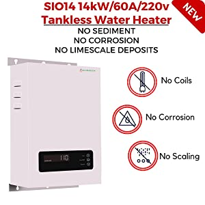 SioGreen Tankless Water Heater