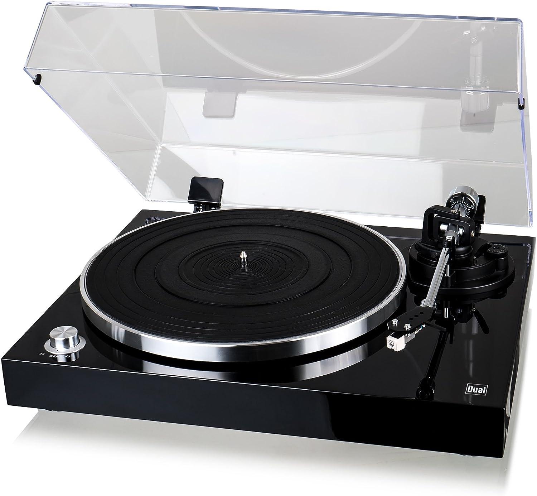 Dual DTJ USB - Tocadiscos para DJ (33/45 U / min, Control de Tono, Sistema fonocaptor magnético, iluminación de Agujas ,, USB)