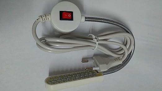 Flexo LED especial para maquinas de coser con IMAN: Amazon.es ...