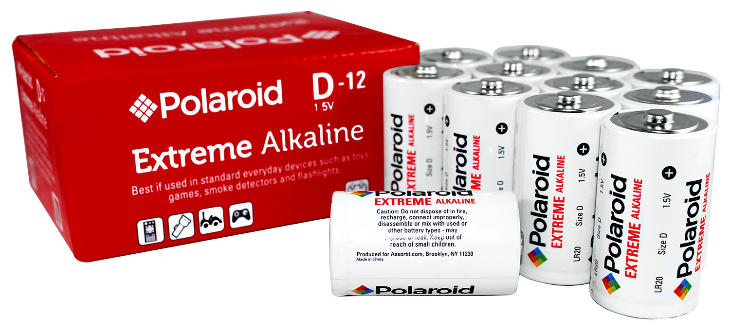 Polaroid Extreme D Cell 15v Lr20 Alkaline Batteries 12 Buy Wholesale Short Circuit Detector From China Pack Health Personal Care